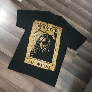 🎤💲 Lil Wayne Tshirt ! Great condition sz (Sm)